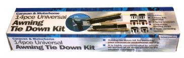 Streetwize Universal 14pce Awning Tie Down Kit